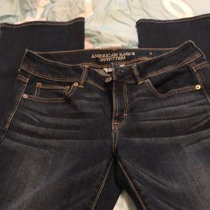 American Eagle super stretch boot cut jeans